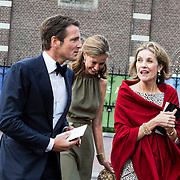 NLD/Amsterdam/20140613 - Prinses Beatrix bij de uitreiking van de Pritzker Achitecture Prize 2014, Prins Maurits en Prinses Marilene