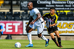 Andre Wisdom of Derby County - Mandatory by-line: Robbie Stephenson/JMP - 14/07/2018 - FOOTBALL - Meadow Lane - Nottingham, England - Notts County v Derby County - Pre-season friendly