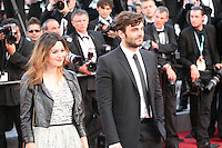 Emilie Simon and Pïo Marmai attend the gala screening of Lawless at the 65th Cannes Film Festival. The screenplay for the film Lawless was written by Nick Cave and Directed by John Hillcoat. Saturday 19th May 2012 in Cannes Film Festival, France.