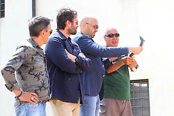 MASTERCHEF A COMACCHIO DA SINISTRA BRUNO BARBIERI CARLO CRACCO JOE BASTIANICH