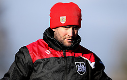 Bristol City head coach Lee Johnson oversees training - Mandatory by-line: Robbie Stephenson/JMP - 19/01/2017 - FOOTBALL - Bristol City Training Ground - Bristol, England - Bristol City Training