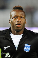 Cheick Fantamady DIARRA - 31.10.2014 - Auxerre / Brest - 13eme journee Ligue 2<br />