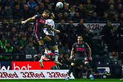 Leeds United defender Gaetano Berardi (28) in action during the EFL Sky Bet Championship match between Preston North End and Leeds United at Deepdale, Preston, England on 22 October 2019.