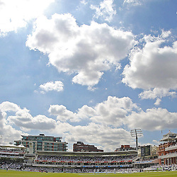 Lords cricket ground view during the first day of the Investec 2nd Test match between England and India at Lords, London, 17th July 2014 © Phil Duncan | SportPix.org.uk