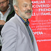 Graham Norton Arrivals at Man of La Mancha, at London Coliseum on 30 April 2019, London, UK.