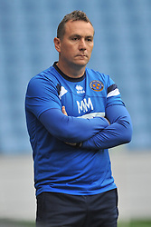 Micky Mellon Manager Shrewsbury Town FC, Coventry City v Shreswsbury Town FC  Ricoh Arena, Football Sky Bet League One, Saturday 3rd October 2015