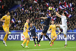 November 14, 2019, Paris, France, France: Olivier Giroud (Fra) vs Alexei Koselev  (Credit Image: © Panoramic via ZUMA Press)