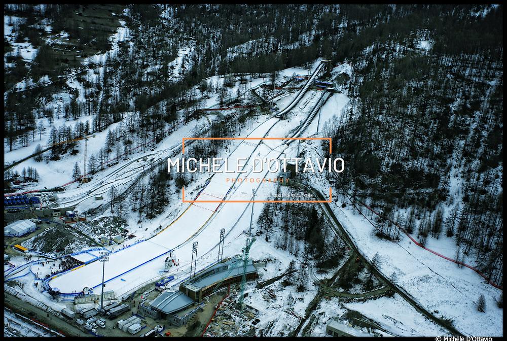 impianto di trampolini per il salto con gli sci di Pragelato