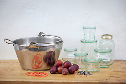 Equipment for making jam and preserves