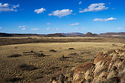 Scenery in private game ranch<br /> Great Karoo<br /> SOUTH AFRICA