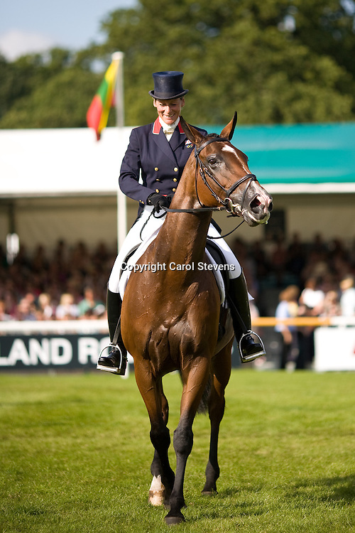 Land Rover Burghley 2010  Dressage Day 2