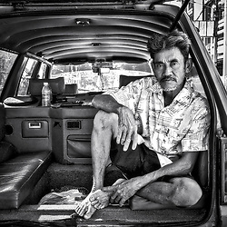 Taxi driver, Thailand