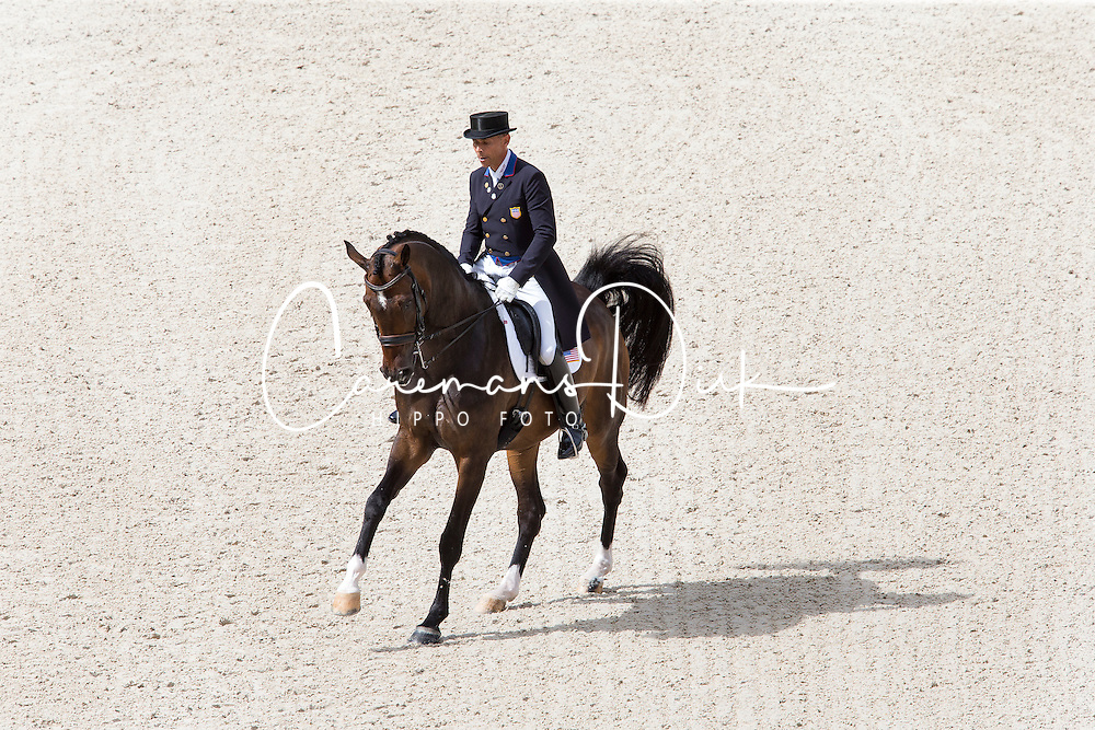 Steffen Peters, (USA), Legolas 92 - Grand Prix Team Competition Dressage - Alltech FEI World Equestrian Games&trade; 2014 - Normandy, France.<br /> &copy; Hippo Foto Team - Leanjo de Koster<br /> 25/06/14
