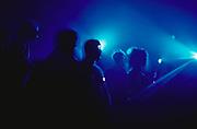 Ravers Under Blue Light