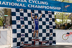 Podium awards were given out after The 2008 USA Cycling Collegiate National Championships Criterium event held in Fort Collins, CO on May 11, 2008.