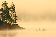 Canoeing in mist<br />