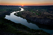 Snake river at sunset, Twin Falls, Idaho