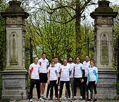 20140410 NED: NY City Marathon training Vriendenloterij, Amsterdam