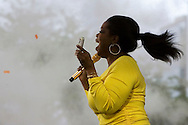Oprah Winfrey celebrates her shows 24th season.