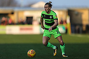 Forest Green Rovers Joseph Mills(23) runs forward during the EFL Sky Bet League 2 match between Forest Green Rovers and Morecambe at the New Lawn, Forest Green, United Kingdom on 17 November 2018.