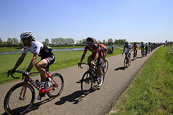 The peloton including Fabian Cancellara (SUI) Trek-Segafredo in action during Stage 3 of the 2016 Giro d'Italia running 190km from Nijmegen to Arnhem, The Nethrerlands. 8th May 2016.<br /> Picture: Eoin Clarke | Newsfile<br /> <br /> <br /> All photos usage must carry mandatory copyright credit (© Newsfile | Eoin Clarke)