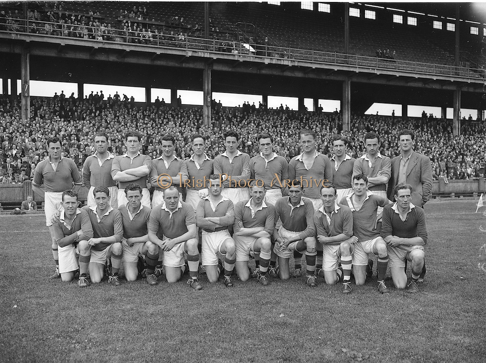 National Football League Final. Meath v Derry. Croke Park, Dublin. 1956.