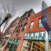 Walnut Street in the River Market, Kansas City, MO