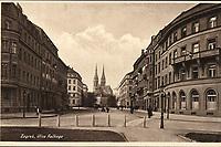 Zagreb : Ulica Račkoga. <br /> <br /> ImpresumZagreb : Naklada razglednica, tiskara, knjižara i papirnica St. Kugli, [1946].<br /> Materijalni opis1 razglednica : tisak ; 9 x 14 cm.<br /> NakladnikKnjižara Stjepan Kugli (Zagreb)<br /> Mjesto izdavanjaZagreb<br /> Vrstavizualna građa • razglednice<br /> ZbirkaGrafička zbirka NSK • Zbirka razglednica<br /> Formatimage/jpeg<br /> PredmetZagreb –– Ulica Franje Račkoga<br /> SignaturaRZG-RACK-5<br /> Obuhvat(vremenski)20. stoljeće<br /> NapomenaRazglednica je putovala.<br /> PravaJavno dobro<br /> Identifikatori000954707<br /> NBN.HRNBN: urn:nbn:hr:238:566139 <br /> <br /> Izvor: Digitalne zbirke Nacionalne i sveučilišne knjižnice u Zagrebu