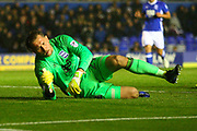 Birmingham goalkeeper Tomasz Kuszczak during the EFL Sky Bet Championship match between Birmingham City and Sheffield Wednesday at St Andrews, Birmingham, England on 27 September 2017. Photo by John Potts.