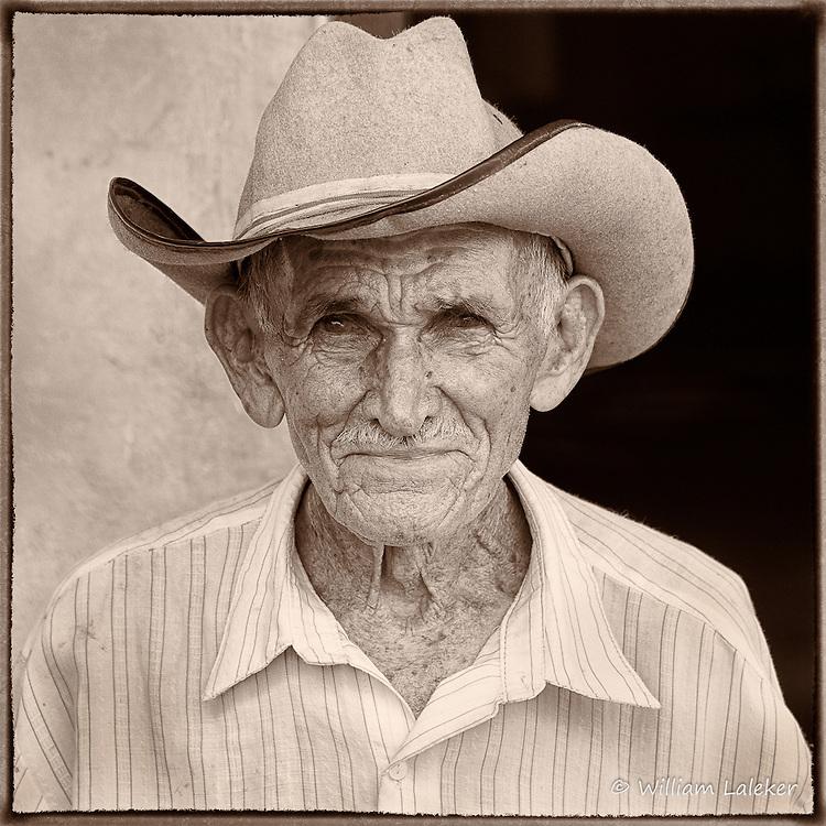 Portrait of Cuban Tobacco Farmer