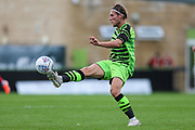 Forest Green Rovers George Williams(11) controls the ball during the Pre-Season Friendly match between Forest Green Rovers and Bristol City at the New Lawn, Forest Green, United Kingdom on 24 July 2019.