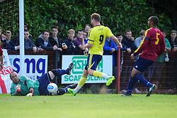 Bristol City's Steven Davies shoots - Photo mandatory by-line: Dougie Allward/JMP - Tel: Mobile: 07966 386802 03/07/2013 - SPORT - FOOTBALL - Bristol -  Ashton and Backwell United V Bristol City - Pre Season Friendly