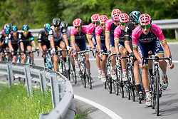 Cyclists of Lampre - Merida during Stage 1 of 23rd Tour of Slovenia 2016 / Tour de Slovenie from Ljubljana to Koper/Capodistria (177,8 km) cycling race on June 16, 2016 in Slovenia. Photo by Vid Ponikvar / Sportida
