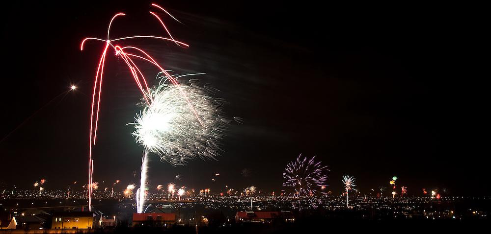 Gamlárskvöld í Kópavogi | New years eve in Kopavogur, Iceland