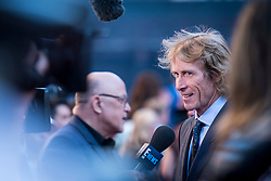 Director Michael Bay talks to the press at the US Premier of 'Transformers: The Last Knight' on the Chicago River in front of the Civic Opera House on Tuesday June 20, 2017 in Chicago, IL. Photo: Christopher Dilts / Sipa USA *** Please Use Credit from Credit Field ***