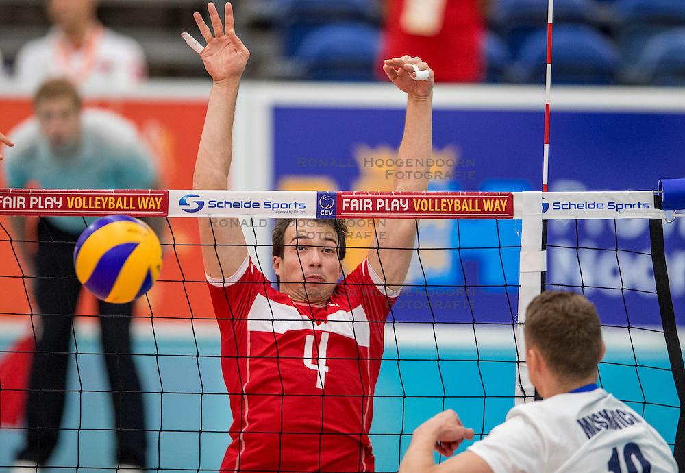 23-09-2016 NED: EK Kwalificatie Turkije - Wit Rusland, Koog aan de Zaan<br /> Turkije had het vrij lastig in de eerste wedstrijd tegen Wit Rusland maar blijven meedoen voor het EK ticket / Baturalp Burak Gungor