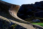 BONIFACIO, CORSICA: August 04, 2007 -- BOAT RIDE IN CORSICA -- Rocks on Ile de Lavezzi during a boat ride near Bonifacio, Corsica August 04, 2007...Steve McKinley Photo.