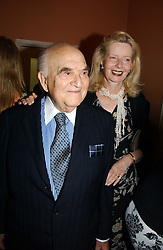 LORD & LADY WEIDENFELD at a party to celebrate the publication of 'A History of The English Speaking Peoples Since 1900' hosted by Andrew Roberts and Susan Gilchrist at the English-Speaking Union, 37 Charles Street, London W1 on 11th September 2006.<br />