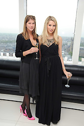 Left to right, PRINCESS FLORENCE VON PREUSSEN and ALEXANDRA FINLAY at The Reuben Foundation and Virgin Unite Haiti Fundraising dinner held at Altitude 360 in Millbank Tower, London on 26th May 2010.