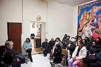 29 February 2012- Palermo, Italy: Rita Borsellino at a Mauritius community assembly in the historic centre of Palermo. Rita Borsellino, 66, is the mayor candidate in the centre-left primary campaing for the local elections of the city of Palermo, Sicily. ### 29 febbraio 2012 - Palermo, Italia. Rita Borsellino in un'assemblea della comunità mauritiana nel centro storico di Palermo . Rita Borsellino, 66 anni, è il candidato sindaco alle primare del centrosinistra per le elezioni amministrative della città di Palermo, Sicilia.