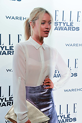 LAURA WHITMORE at the 17th Elle Style Awards 2014 in association with Warehouse held at One Embankment, 8 Victoria Embankment, London on 18th February 2014.