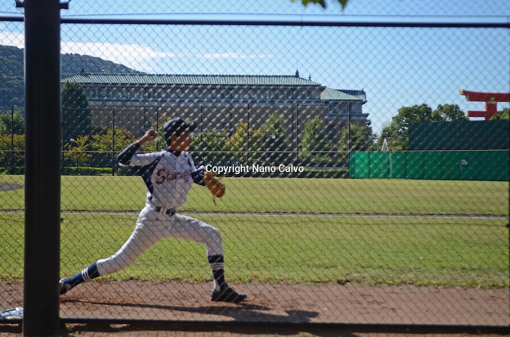 Junior teams baseball training, Kyoto