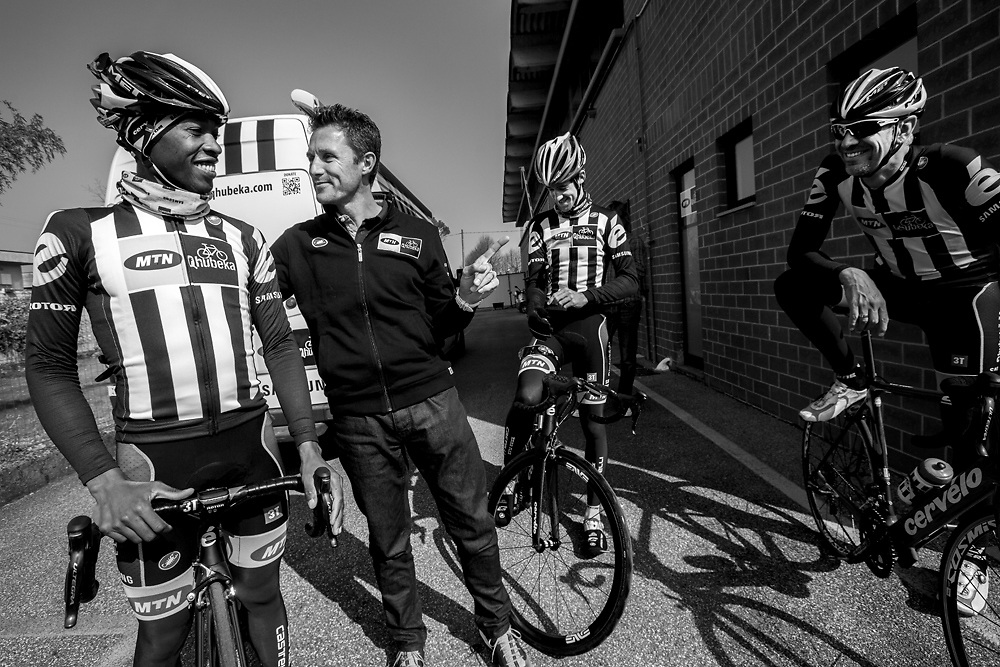 MTN Team Qhubeka the first African cycling team to compete in the Tour de  France 2015 466bfb3c3