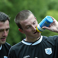 St Johnstone FC training.....06.07.04<br />