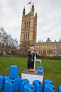 Mark Lazarowicz MP. Marking World Water Day, over 40 MP's walked for water at Westminster, London at an event organised by WaterAid and Tearfund. Globally hundreds of thousands of people took part in the campaign to raise awareness of the world water crisis.