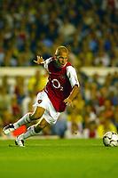 Fotball<br /> UEFA Champions League 2003/2004<br /> Arsenal v Inter<br /> 17.09.2003<br /> NORWAY ONLY<br /> Foto: Digitalsport<br /> <br /> FOOTBALL - CHAMPIONS LEAGUE 2003/04 - 1ST ROUND - GROUP B - 030917 - ARSENAL FC v FC INTERNAZIONALE - FREDRIK LJUNGBERG (ARS) - PHOTO LAURENT BAHEUX