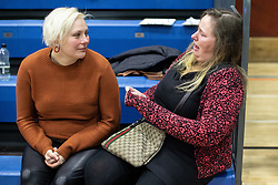 © Licensed to London News Pictures . 13/12/2019. Bury, UK. Labour Party supporters cry in defeat at the count for seats in the constituencies of Bury North and Bury South in the 2019 UK General Election , at Castle Leisure Centre in Bury . Photo credit: Joel Goodman/LNP