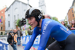 Elisa Longo Borghini after the UCI Road World Championships Elite Women's Individual Time Trial 2017 a 21.1 km time trial in Bergen, Norway on September 19, 2017. (Photo by Sean Robinson/Velofocus)