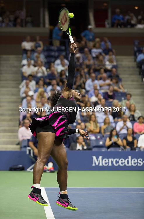 SERENA WILLIAMS (USA)<br /> <br /> Tennis - US Open 2016 - Grand Slam ITF / ATP / WTA -  USTA Billie Jean King National Tennis Center - New York - New York - USA  - 8 September 2016.