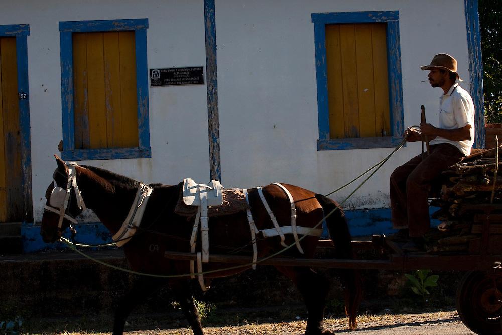 Pitangui_MG, Brasil...Primeira casa de Pitangui, de 1709, Minas Gerais...The first house in Pitangui, 1709, Minas Gerais...Foto: LEO DRUMOND / NITRO